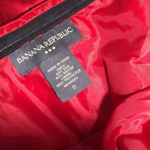 Banana Republic Tops - 💥 Banana Republic Red Silk Strapless Bustier